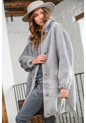 Куртка - Дублёнка из меха мерино Италия