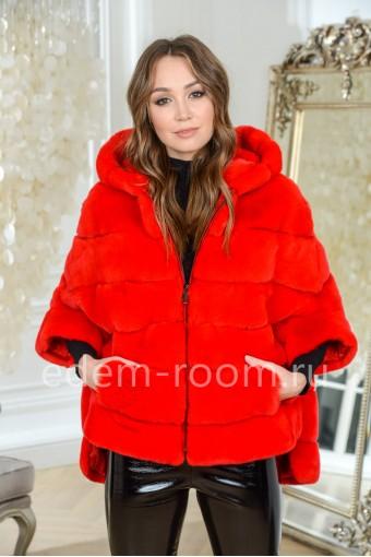 Куртка - кофта из кролика рекс