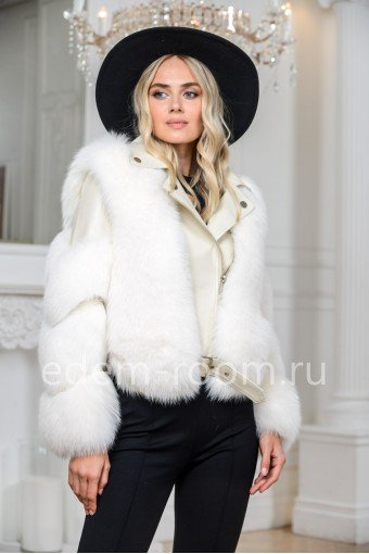 Куртка - косуха с финским песцом