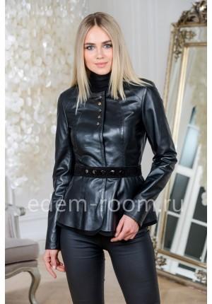 Модная кожаная куртка из Турции