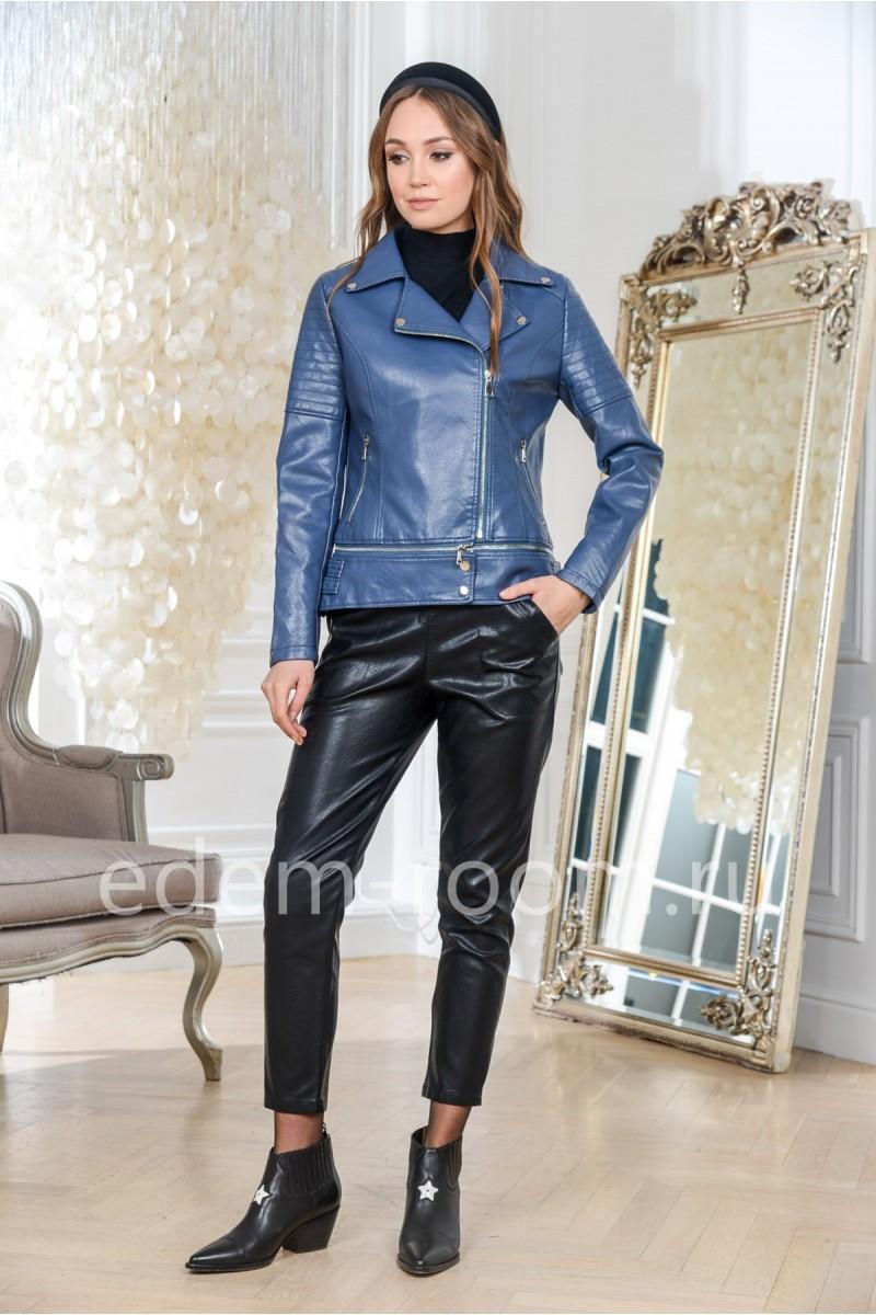 Куртка из эко-кожи на большие размеры