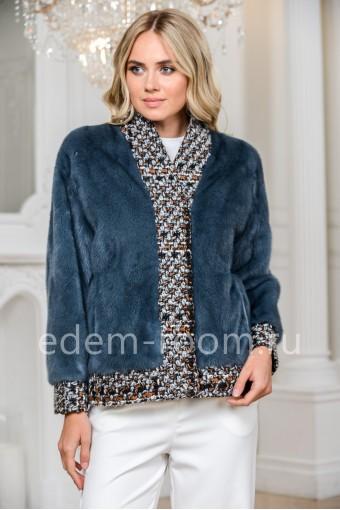 Куртка - жакет из меха норки