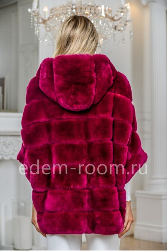 Куртка на молнии из кролика