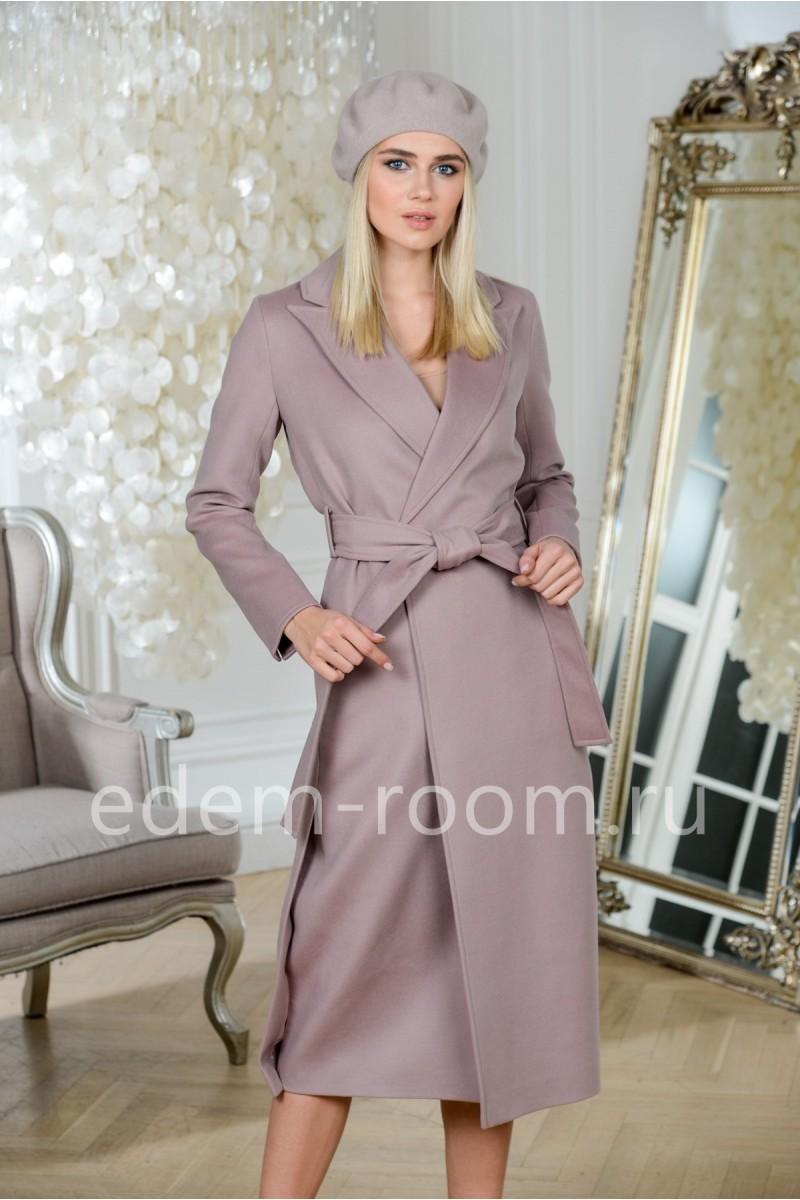 Удлинённое пальто из шерсти