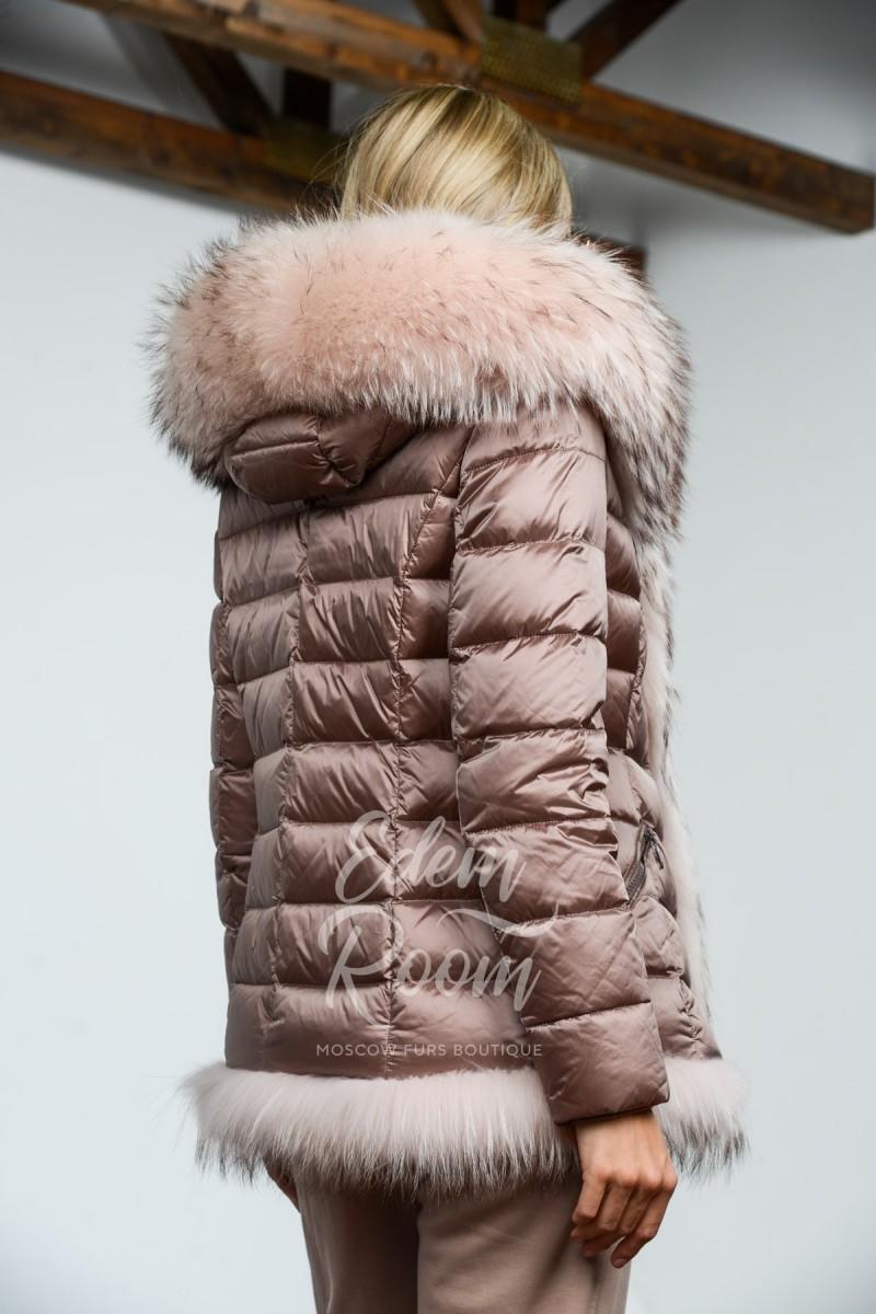 Пуховая парка - куртка