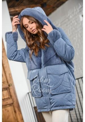 Современный пуховик - куртка