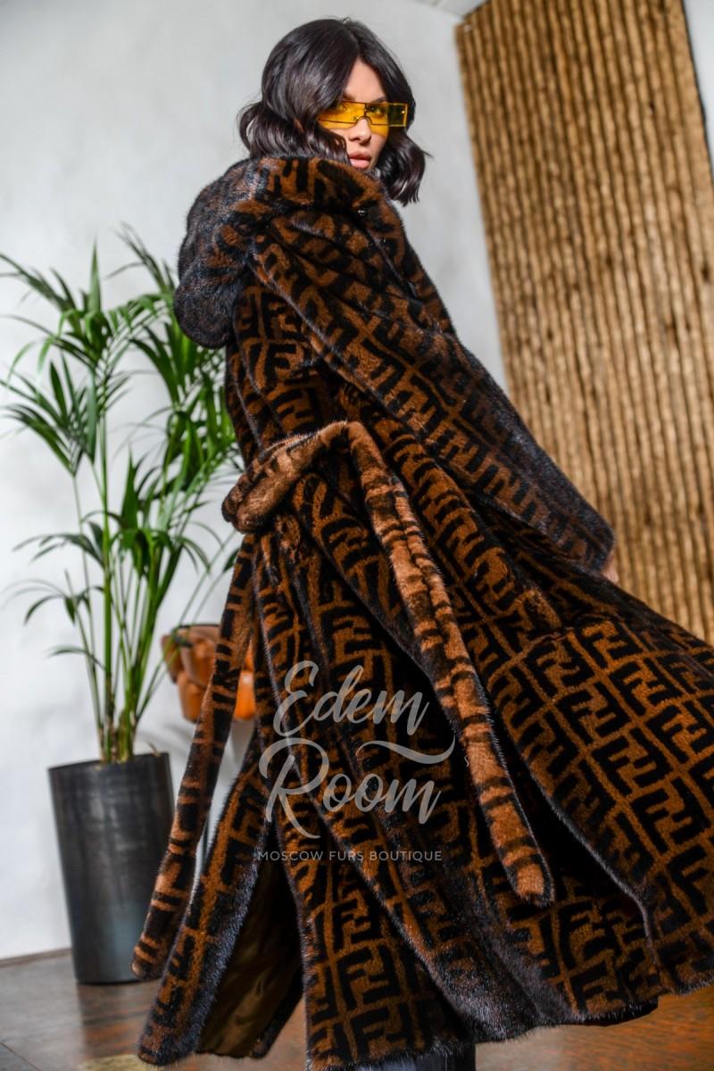 Эксклюзивная шуба из норки velvet