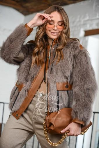 Зимняя меховая куртка