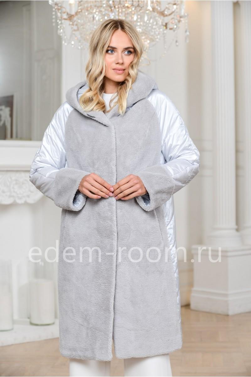 Облегчённое пальто из шерсти