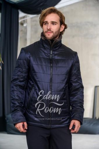 Синяя куртка для межсезонья