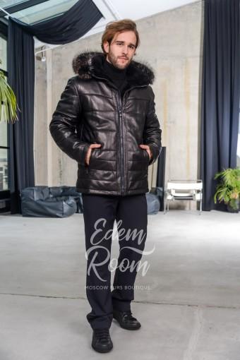Куртка из натуральной кожи для зимы