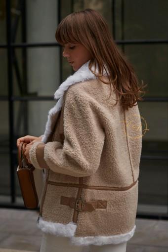 Куртка - Авиатор из шерсти