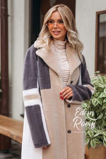 Пальто из экологической шерсти