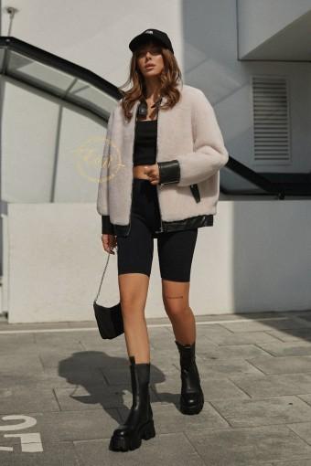 Куртка из шерсти альпаки