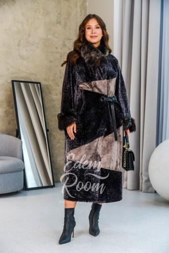 Эксклюзивная дублёнка - пальто для прохладной погоды