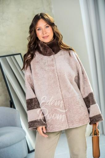 Двухсторонняя меховая куртка - дублёнка
