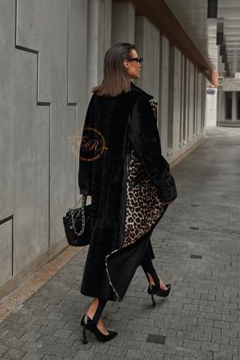 Облегчённая дублёнка - пальто из мериноса