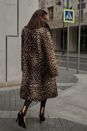 Эксклюзивное демисезонная дублёнка - пальто
