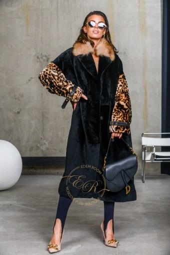 Лёгкая дублёнка - пальто Италия