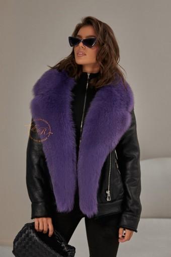 Куртка - дублёнка из натуральной овчины