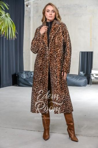 Облегчённая дублёнка - пальто из элитного мериноса