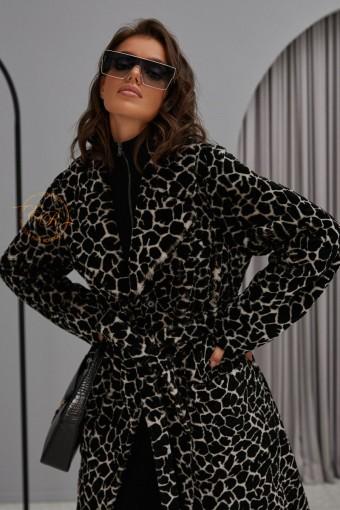 Итальянское пальто - дублёнка из мериноса