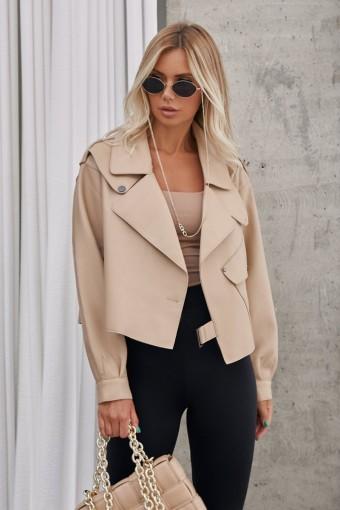Популярная куртка их мягкой кожи