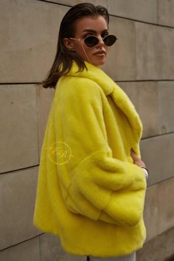 Модная куртка из скандинавской норки