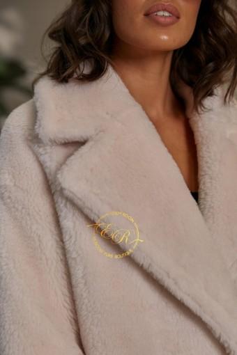 Куртка  - шуба из современной шерсти