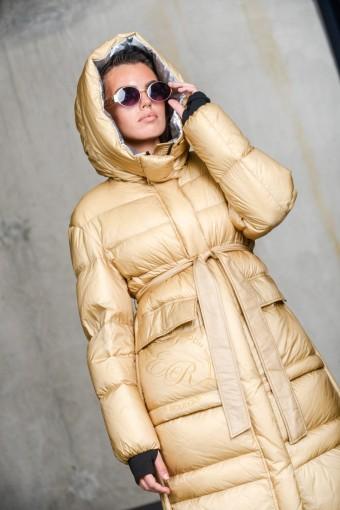 Пуховик - пальто из натурального пуха