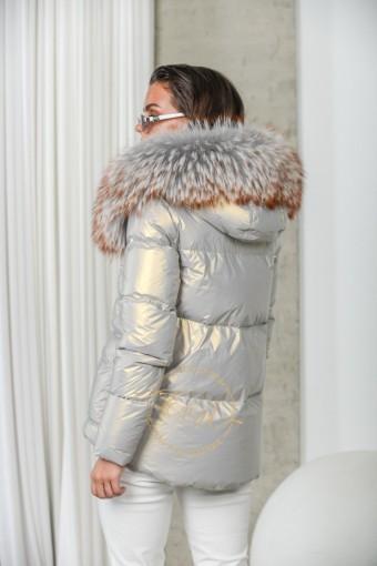 Невесомая куртка пуховая