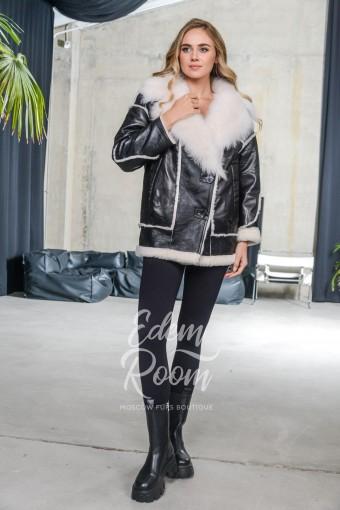 Куртка дубленка из овчины