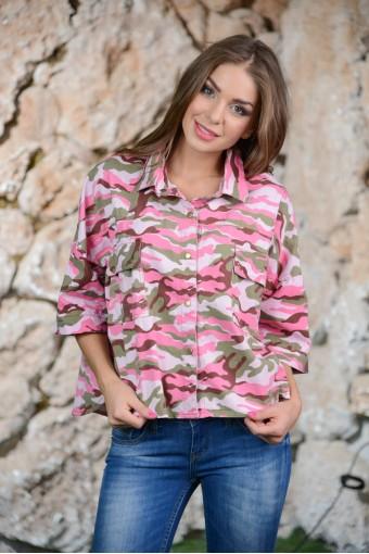 Рубашка-милитари