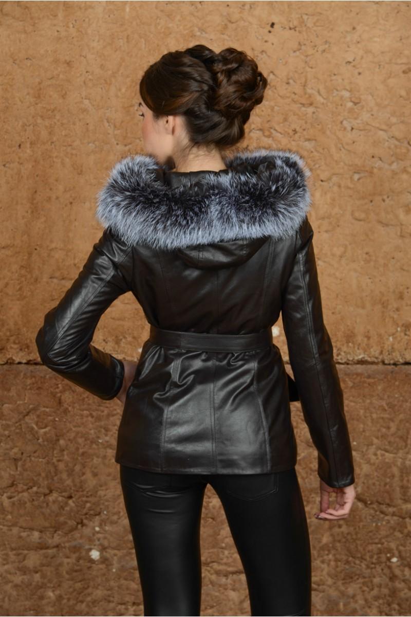 Новинка! Кожаная куртка для Весны и Осени