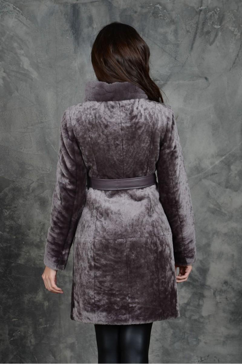 Модная Шуба из мутона.