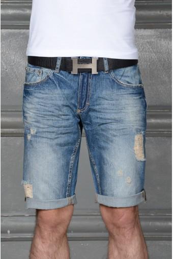 Модные шорты с подворотом