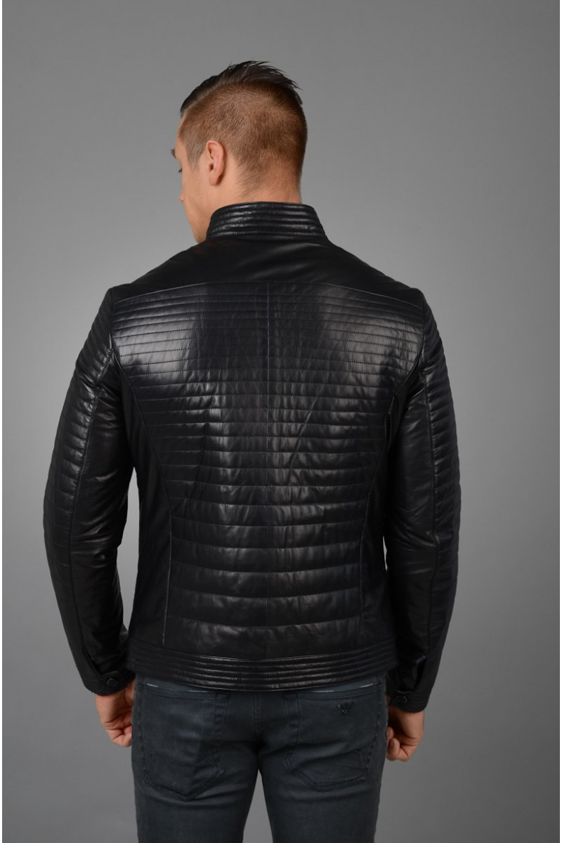 Кожаная куртка мужская НОВИНКА