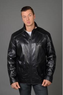 Кожаная куртка мужская на Большие размеры.