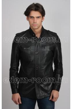 Мужская куртка из мягкой кожи