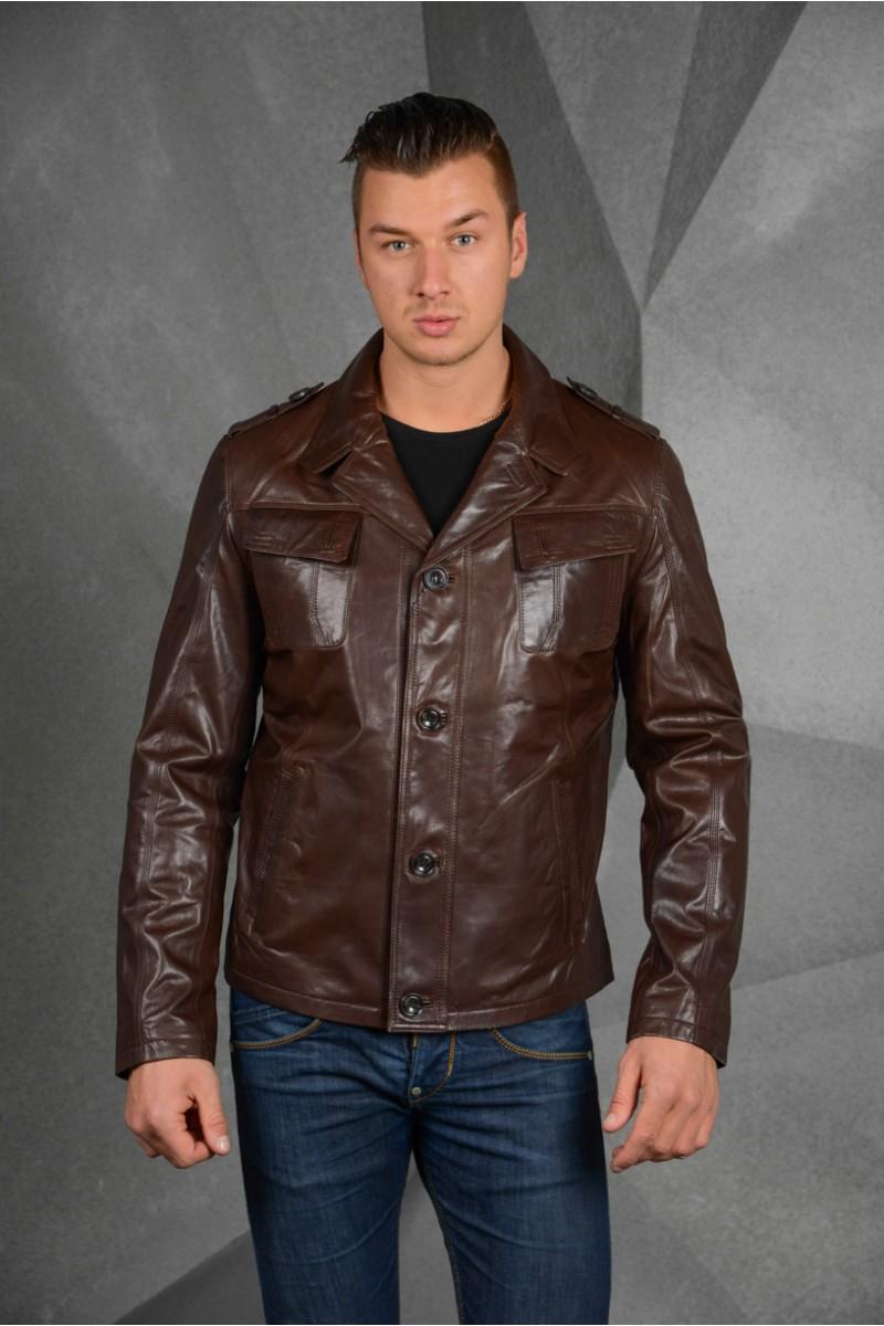 Мужская коричневая  куртка