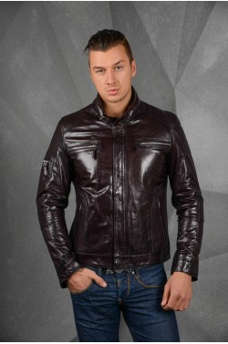 Модная кожаная куртка - 2014