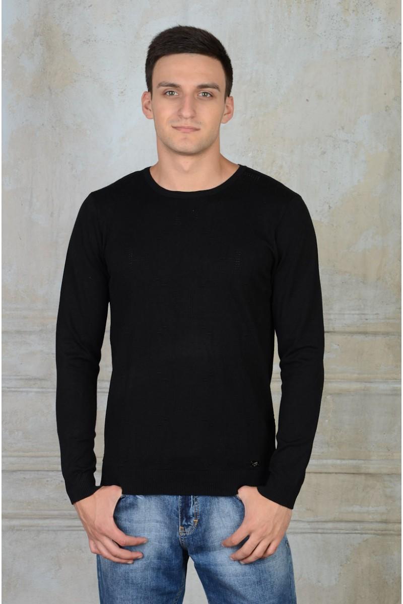 Чёрный пуловер