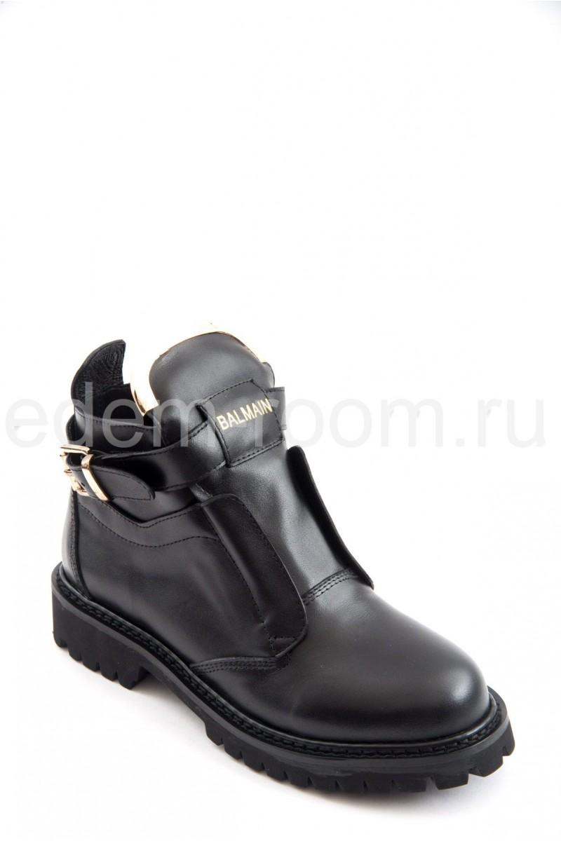 Кожаные ботинки Balmain