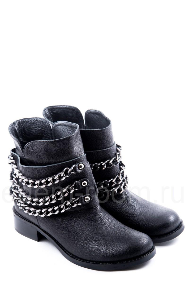 Ботинки с цепями