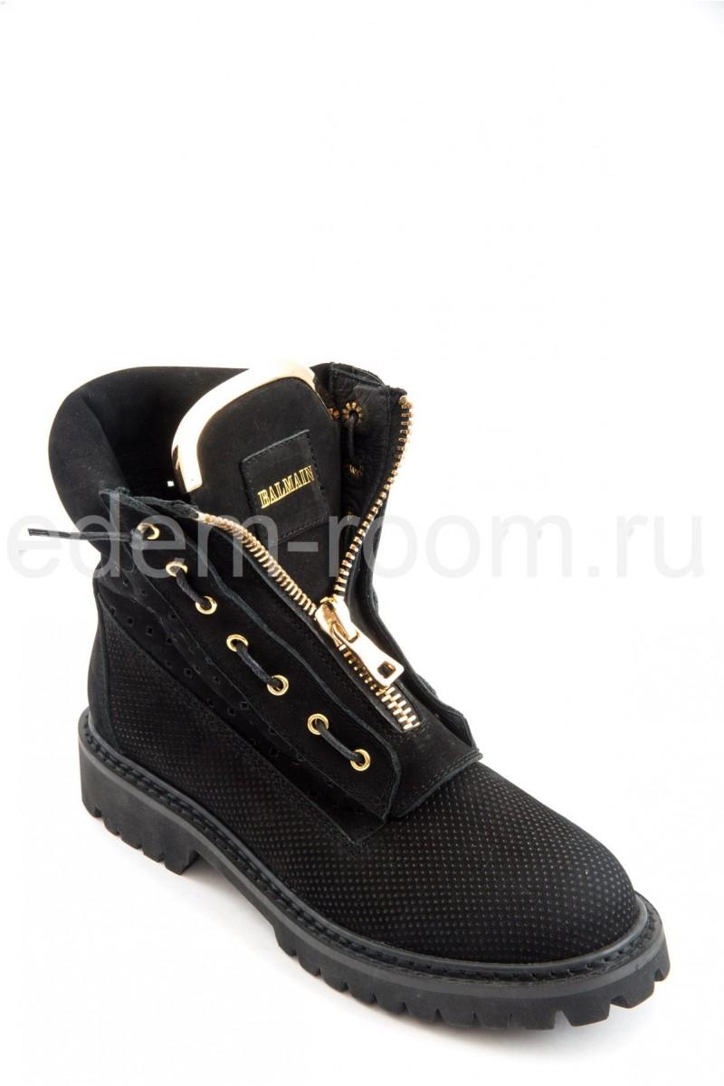 Ботинки замшевые Balmain