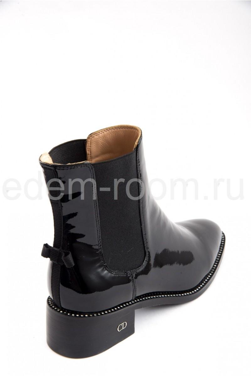 Лаковые ботинки Christian Dior