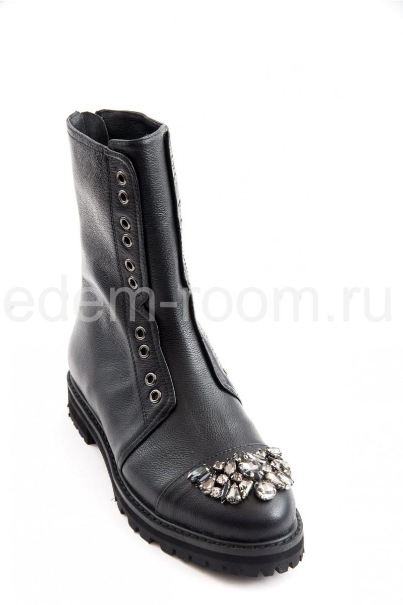 Ботинки JIMMY CHOO с камнями