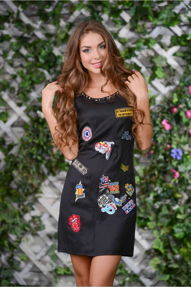 Стильное платье в стиле Рок-н-Ролл