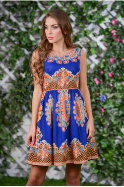 Летнее шёлковое платье