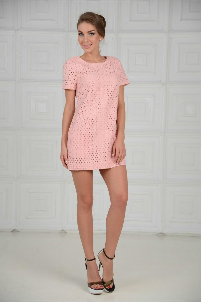Нежно розовое платье - Лето